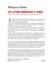 Latino Americain A Paris - 4ème de couverture - Format classique