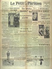 Petit Parisien Edition De Paris (Le) du 07/05/1941 - Couverture - Format classique