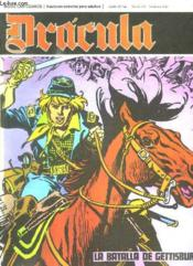 Dracula N° 32 La Batalla De Gettisburg. Texte En Espagnol. Bande Dessinee Pour Adultes. - Couverture - Format classique