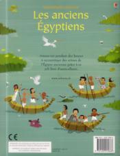 Les anciens égyptiens - 4ème de couverture - Format classique