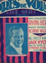 Pres De Vous - Blue Skies / Fox-Trot Chante - Piano + Chant. - Couverture - Format classique