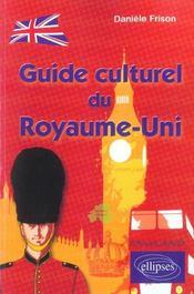 Guide Culturel Du Royaume-Uni - Intérieur - Format classique