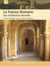 La france romane - Couverture - Format classique