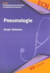 Pneumologie 5e Edition Collection Medicale Par Specialite - 4ème de couverture - Format classique