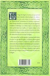 Grand livre des dragons (le) - 4ème de couverture - Format classique