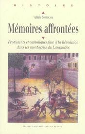 Memoires Affrontees - Intérieur - Format classique