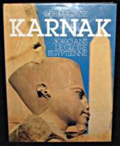 Karnak 3000 Ans De Gloire Egyptienne - Couverture - Format classique