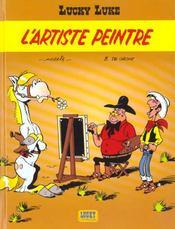 Lucky Luke T.40 ; L'Artiste Peintre - Intérieur - Format classique