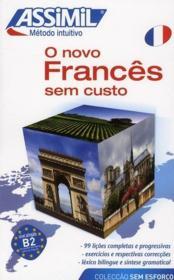 O novo francês sem custo ; método intuitivo ; nivel principiantes e iniciados - Couverture - Format classique