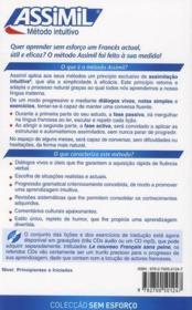 O novo francês sem custo ; método intuitivo ; nivel principiantes e iniciados - 4ème de couverture - Format classique