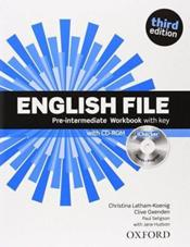 English File Pre Inter Workbk With Key - Couverture - Format classique