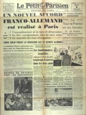 Petit Parisien Edition De Paris (Le) du 08/05/1941 - Couverture - Format classique