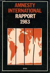 Anesty International. Rapport 1983. - Couverture - Format classique