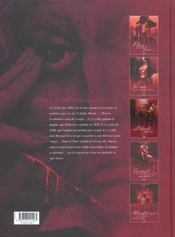Sambre T.3 ; liberté liberté - 4ème de couverture - Format classique