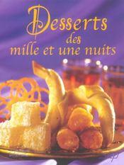 Desserts des mille et une nuits - Intérieur - Format classique