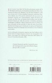 Ecrits Politiques Et Philosophiques - 4ème de couverture - Format classique