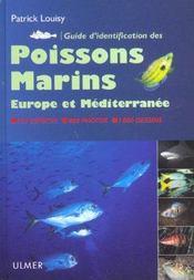 Guide d'identification des poissons marins - Intérieur - Format classique