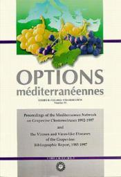 Proceedings of the mediterranean networkon grapevine closteroviruses 19921997 and the viroses and vi - Couverture - Format classique
