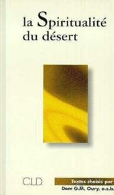Spiritualite du desert - Couverture - Format classique