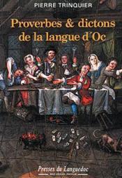 Proverbes Et Dictons De La Langue D'Oc - Couverture - Format classique