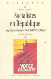 Socialistes en republique - Intérieur - Format classique