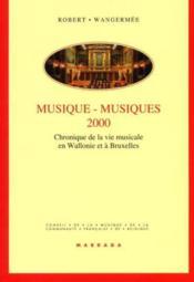 Musique musiques 2000 - Couverture - Format classique