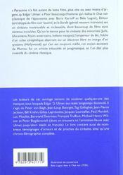 Bandit Demasque (Le) - 4ème de couverture - Format classique