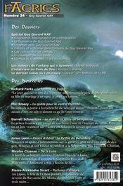 Spécial guy gavriel kay - 4ème de couverture - Format classique