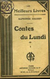 Contes Du Lundi. Tome 1. Collection : Les Meilleurs Livres N° 69. - Couverture - Format classique