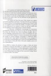 Les Etats-Unis et Cuba au XIXe siècle ; esclavage, abolition et rivalités internationales - 4ème de couverture - Format classique