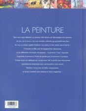 La Peinture - 4ème de couverture - Format classique