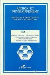 Region Et Developpement 7 - Couverture - Format classique