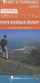 01 Pays Basque Ouest 1/50.000 - Couverture - Format classique