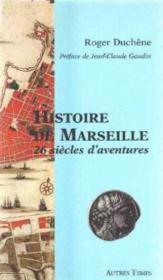 Histoire de Marseille - Couverture - Format classique