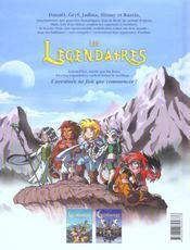 Les legendaires t.2 ; le gardien - 4ème de couverture - Format classique