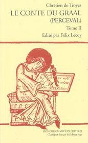 Les romans t.6 ; le conte du Graal (Perceval) - Intérieur - Format classique