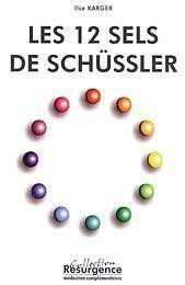 Douze Sels De Schussler - Couverture - Format classique