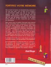 Fortifiez Votre Memoire - 4ème de couverture - Format classique