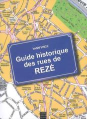 Guide historique des rues de reze - Couverture - Format classique