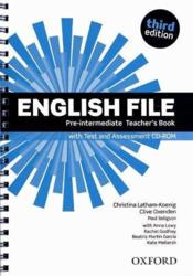 English File 3rd Edition Pre-Intermediate: Teacher'S Book With Test & Assessment Cd-Rom - Couverture - Format classique