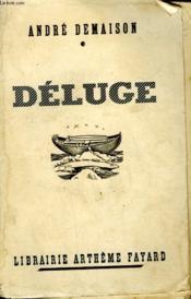 Deluge. - Couverture - Format classique
