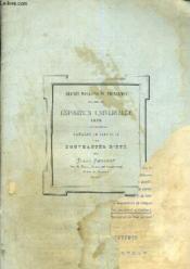 Grands Magasins Du Printemps - Exposition Universelle 1878 - Catalogue Illustre Des Nouveautes D'Ete. - Couverture - Format classique