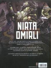 Nirta omirli t.1 ; ; un jeu cruel - 4ème de couverture - Format classique