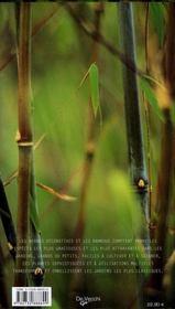 Herbes et bambous - 4ème de couverture - Format classique