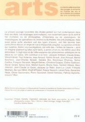 Les limites de l'oeuvre - 4ème de couverture - Format classique