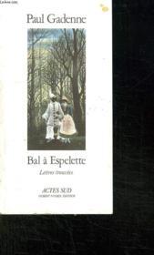 Bal a espelette - Couverture - Format classique