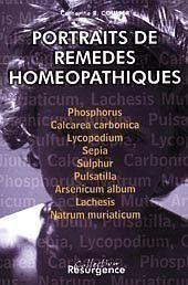 Portraits Remedes Homeopathiques T.1 - Couverture - Format classique