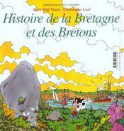 Histoire De La Bretagne Et Des Bretons - 4ème de couverture - Format classique