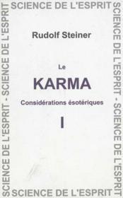 Karma 1 - Couverture - Format classique