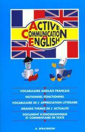 Active communication in english - Intérieur - Format classique